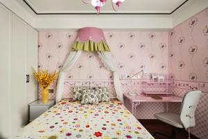 甜美温馨欧式风格儿童房设计装修效果图