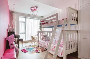 简欧风格精美温馨儿童房设计装修效果图