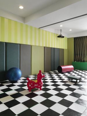 现代风格100平米室内设计装修效果图