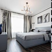 时尚温馨现代风格卧室装修实景图