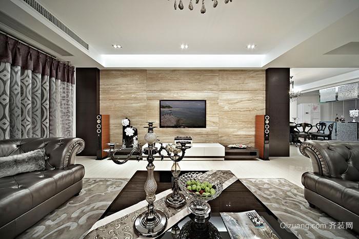 新古典主义风格198平米复式楼室内装修效果图