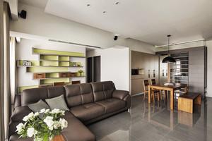 简单温馨宜家风格两室两厅室内装修设计图