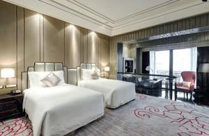 现代风格精致酒店标准间设计装修图