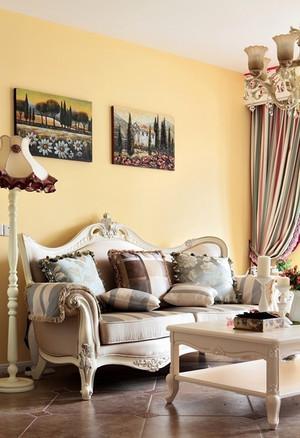 时尚精美欧式风格90平米室内装修效果图