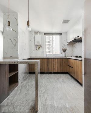 简约精美现代风格厨房设计装修实景图