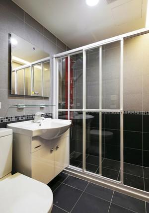 现代简约风格64平米小户型室内装修效果图