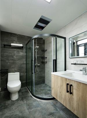 精致宽敞现代风格卫生间淋浴房装修效果图