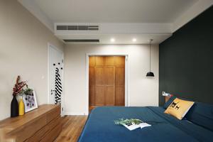 小户型简约宜家风格卧室设计装修效果图