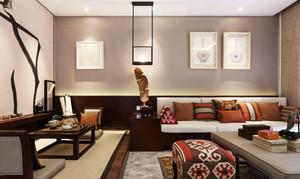 古典精致中式风格客厅装修设计图