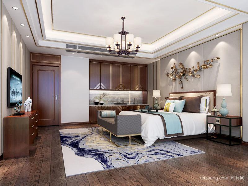 古典雅致中式风格卧室设计装修图