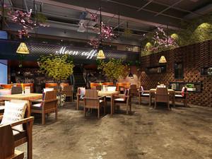 素雅精美新中式餐厅设计装修效果图