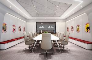 简约实用会议室设计装修效果图