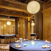 中式风格精致古典餐厅设计装修图