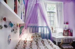 浪漫欧式风格精美儿童房设计装修图