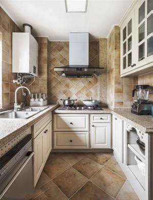 经典时尚欧式风格厨房设计装修效果图