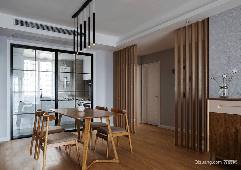 禅意精美日式风格餐厅设计效果图