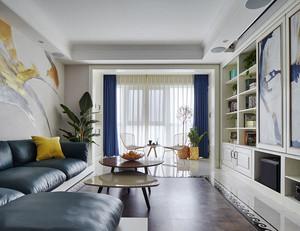时尚精美现代风格大户型客厅设计装修图