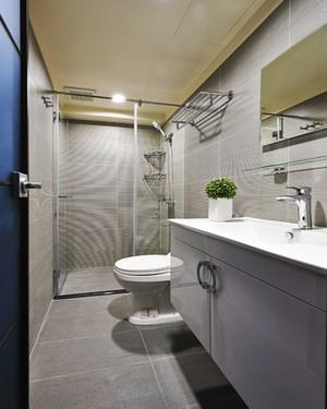 现代风格简装90平米室内装修效果图