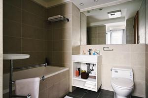 温馨现代风格精致82平米两室两厅装修图