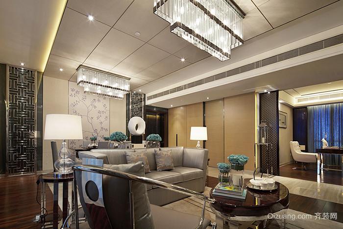 雅致新中式风格100平米室内设计装修效果图