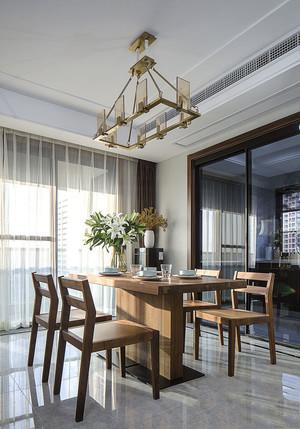 素雅精致新中式风格餐厅设计装修效果图