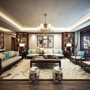 古典雅致中式风格精致客厅设计装修效果图