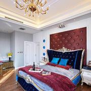 浪漫奢华法式风格卧室设计装修图