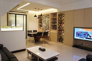 现代简约风格122平米复式楼室内装修图
