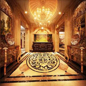 古典欧式风格奢华400平米别墅装修效果图