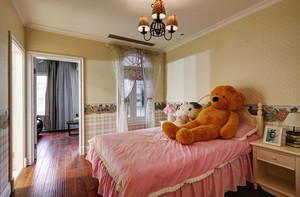 典雅卧室欧式风格儿童房设计装修效果图
