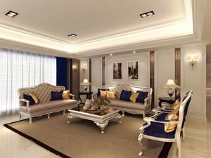 奢华精美欧式风格客厅设计装修图