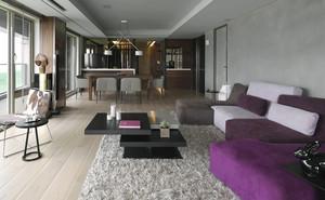 现代风格低调精致120平米室内装修效果图,现代风格家居设计从整体到局部、从空间到室内陈设塑造,精雕细琢,给人一丝不苟的印象。