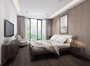 现代风格93平米三室两厅两卫装修效果图赏析