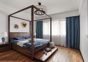 古典精致中式风格卧室设计装修实景图