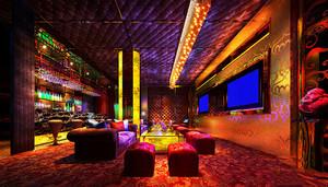 现代风格时尚音乐酒吧设计装修图