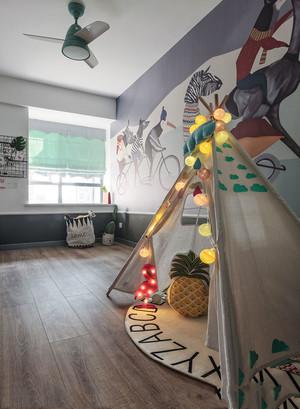 简约卡通温馨儿童房装修效果图
