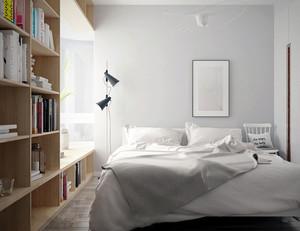 简约温馨北欧风格两室两厅室内设计装修图