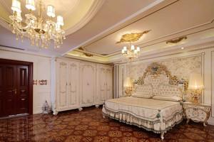 高贵典雅欧式风格卧室设计装修效果图