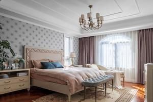 简欧风格浪漫温馨粉色卧室装修效果图