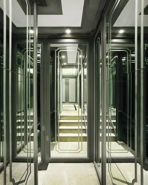 新古典主义风格低调奢华复式楼室内装修效果图