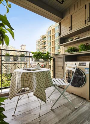 休闲舒适简约风格阳台设计装修图