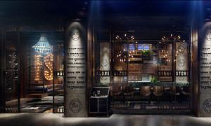 后现代风格时尚音乐酒吧装修效果图