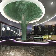 时尚精美现代风格西餐厅设计装修图