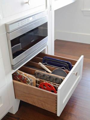 简约风格白色厨房收纳装修效果图大全