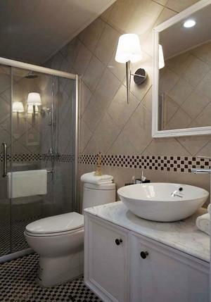 温馨舒适简欧风格大户型室内装修效果图