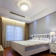 简单温馨简欧风格卧室设计装修实景图