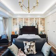精美典雅美式风格大户型卧室装修效果图
