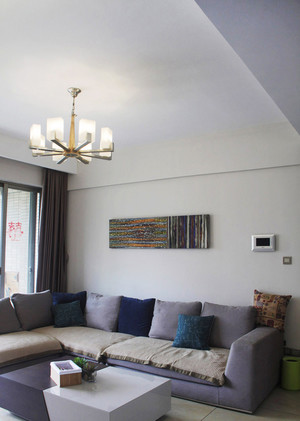 134平米现代风格温馨复式楼室内装修图