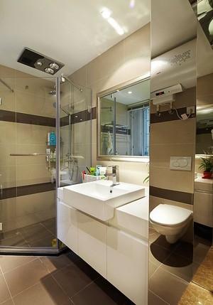 现代简约风格两室两厅样板房装修效果图