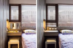 30平米简约风格实用收纳单身公寓装修效果图